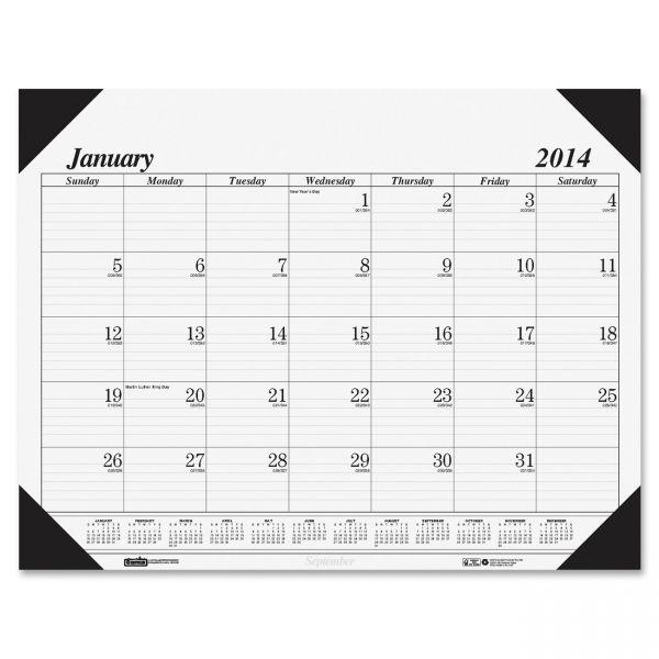 House of Doolittle Refillable Monthly Desk Pad Calendar