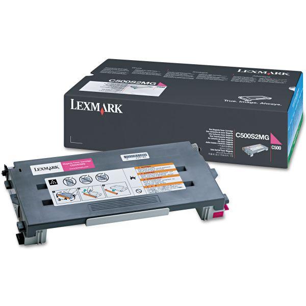 Lexmark C500S2MG Magenta Toner Cartridge