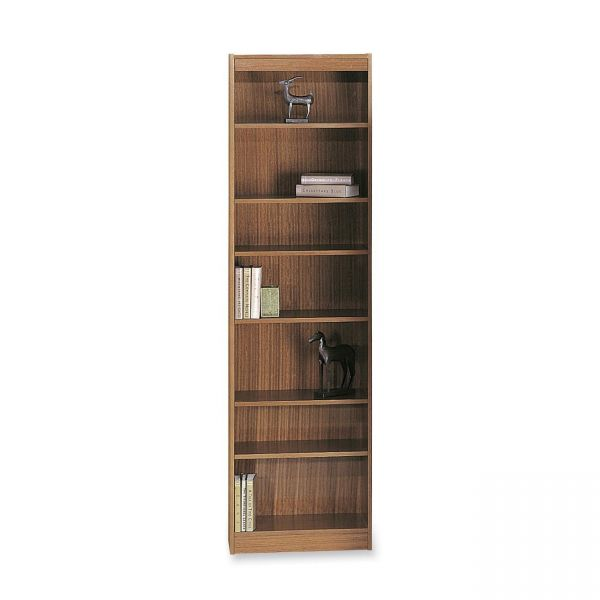 Safco Wood Veneer 7-Shelf Baby Bookcase