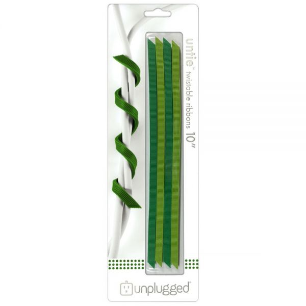 "Untie Twistable Ribbons 10"" 4/Pkg"
