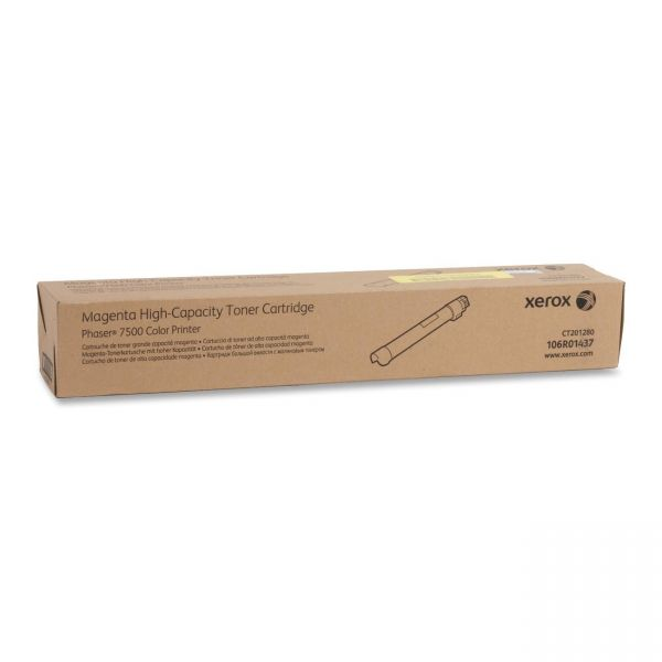 Xerox 106R01437 Magenta High Yield Toner Cartridge