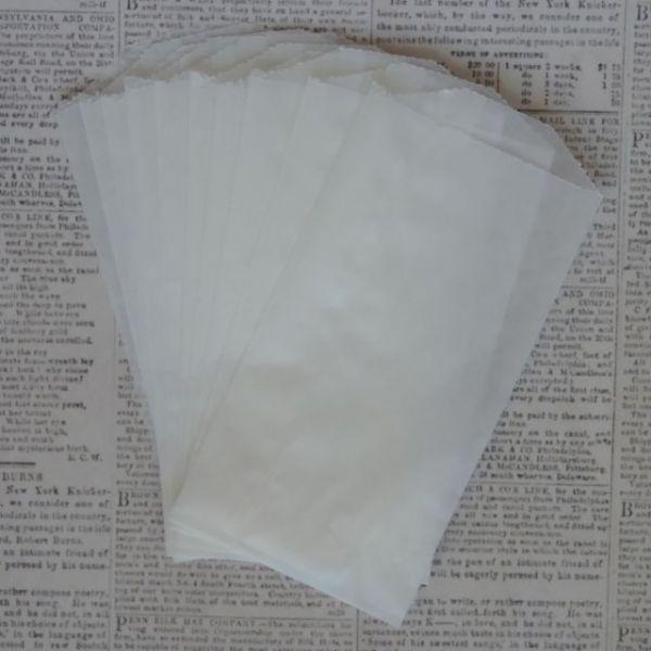 "Glassine Bags 3""X5.5"" 10/Pkg"