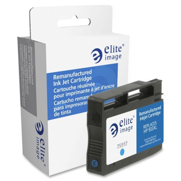 Elite Image Remanufactured HP 933XL (CN054AN) High Yield Ink Cartridge