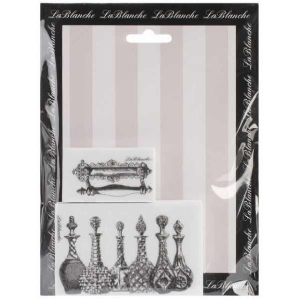 """LaBlanche Silicone Stamps 6""""X7.5"""" Sheet"""