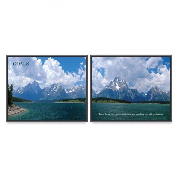 Advantus Goals Panorama Framed Prints Pack