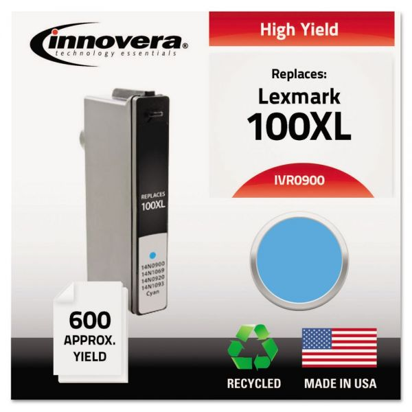 Innovera Remanufactured Lexmark 100XL High Yield Ink Cartridge