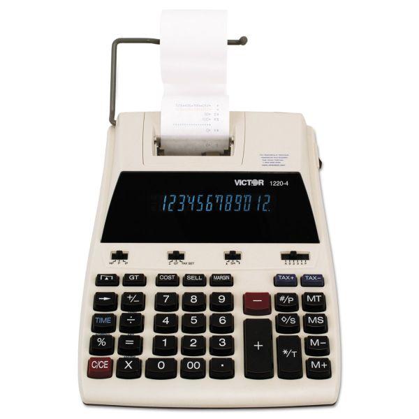 Victor 12204 Desktop Printing Calculator