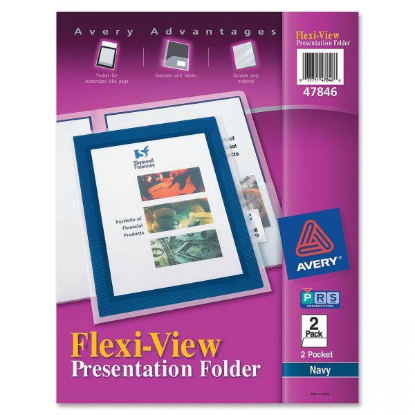 Avery Flexi-View Presentation Two Pocket Folders