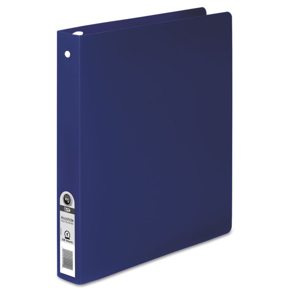 "Acco Semi-Rigid Accohide 1"" 3-Ring Binder"