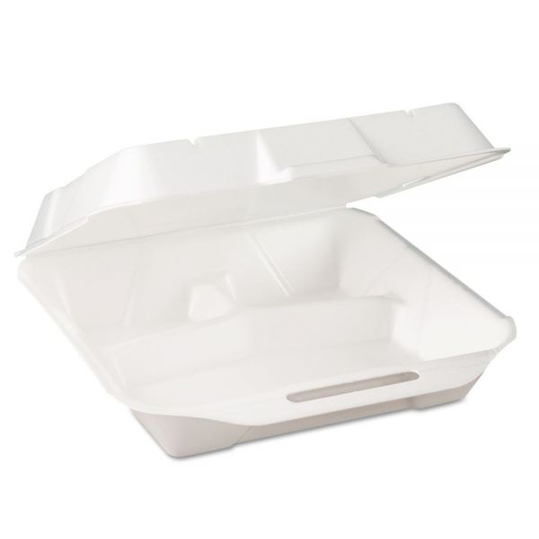 Genpak Jumbo Takeout Foam Clamshell Food Containers