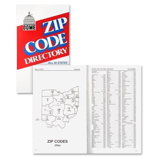 Dome Zip Code DirectoryDirectory Printed Book