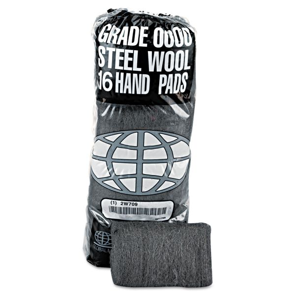 GMT Industrial-Quality Super Fine Steel Wool Hand Pads