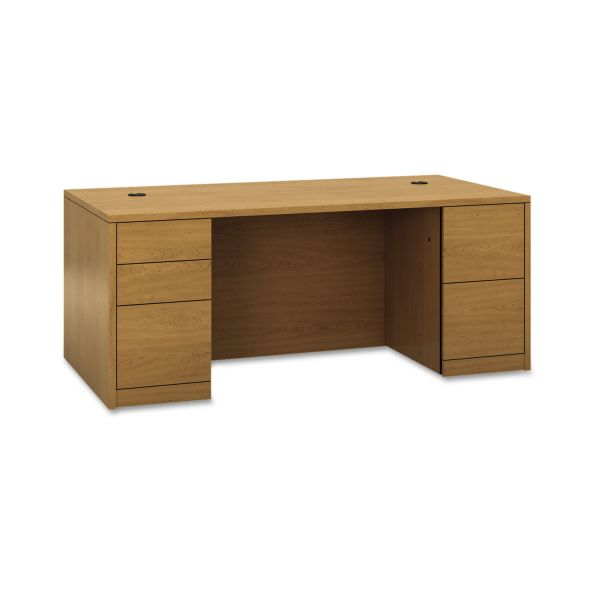 "HON 10500 Series Double Pedestal Desk | 2 Box / 3 File Drawers | 72""W"