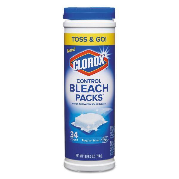 Clorox Control Bleach Packs