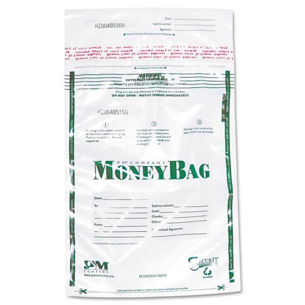 PM Company SecurIT Tamper Evident Plastic Money Bags