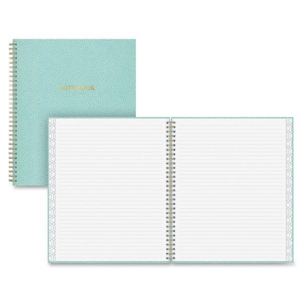 Blue sky Blue Sky Pebble Beach Notebook