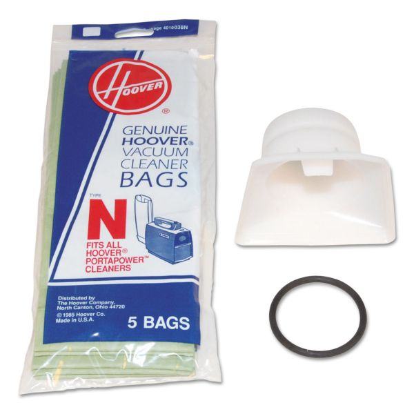Hoover Commercial Bag Adapter Kit, White/Black