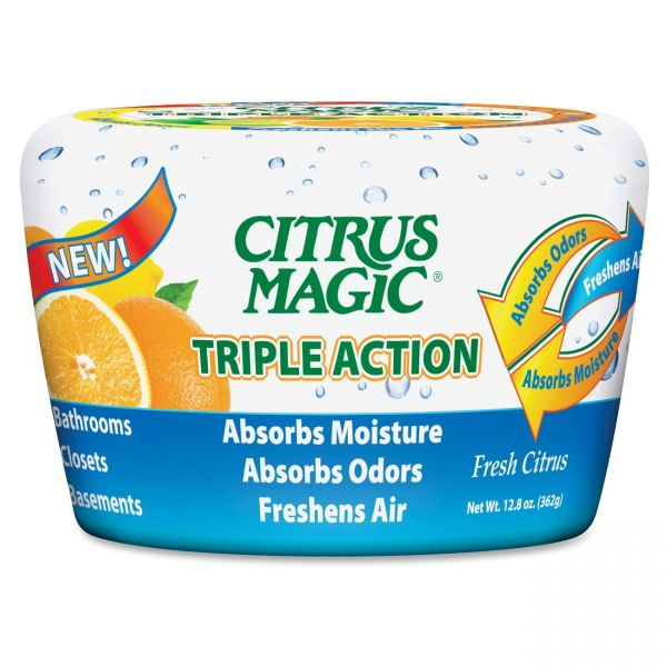 Citrus Magic Triple Action Odor Absorber