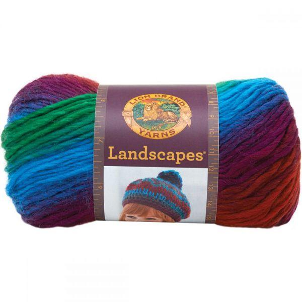 Lion Brand Landscapes Yarn - Apple Orchard