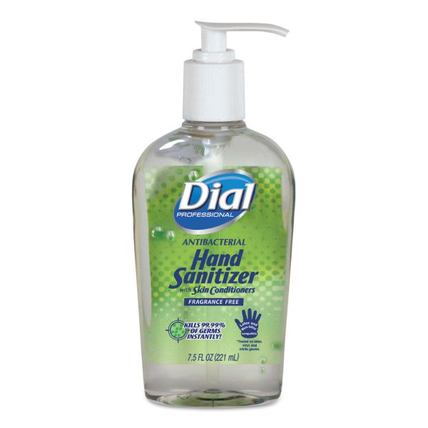 Dial Antibacterial Gel Hand Sanitizer
