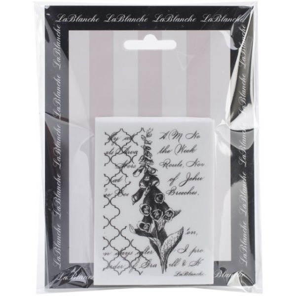 "LaBlanche Silicone Stamp 2.5""X3.5"""