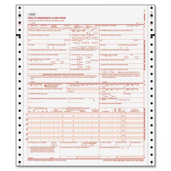 TOPS HCFA Claim Form