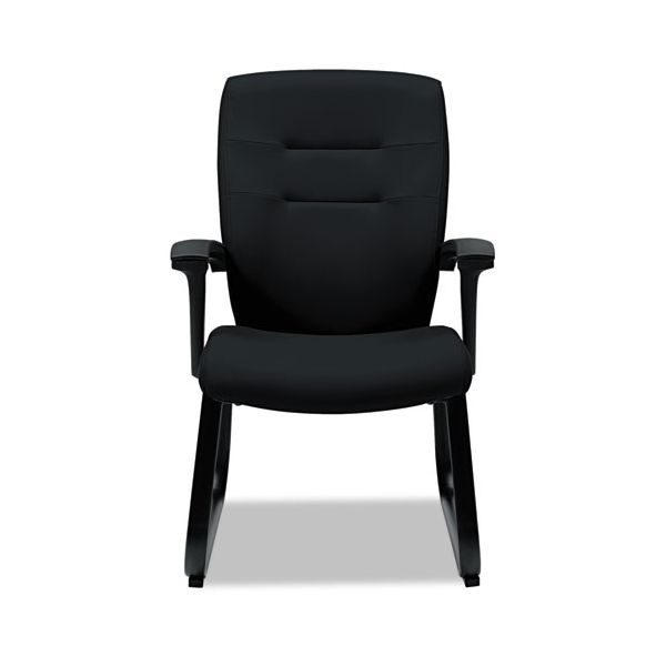 Global Synopsis Series Guest Arm Chair With Sled Base