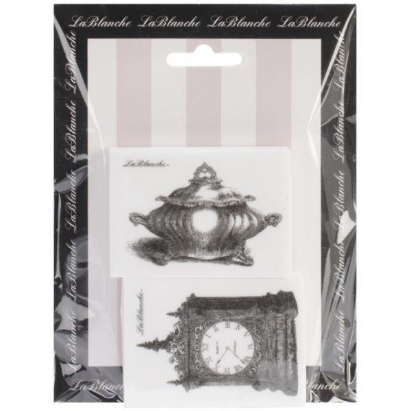 "LaBlanche Silicone Stamps 4.75""X6.5"" Sheet"