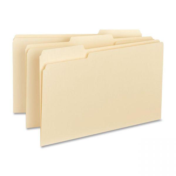 Business Source Interior Manila File Folders