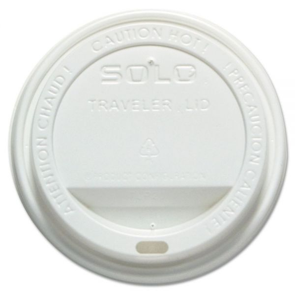 SOLO Cup Company Dome-Top Coffee Cup Lids