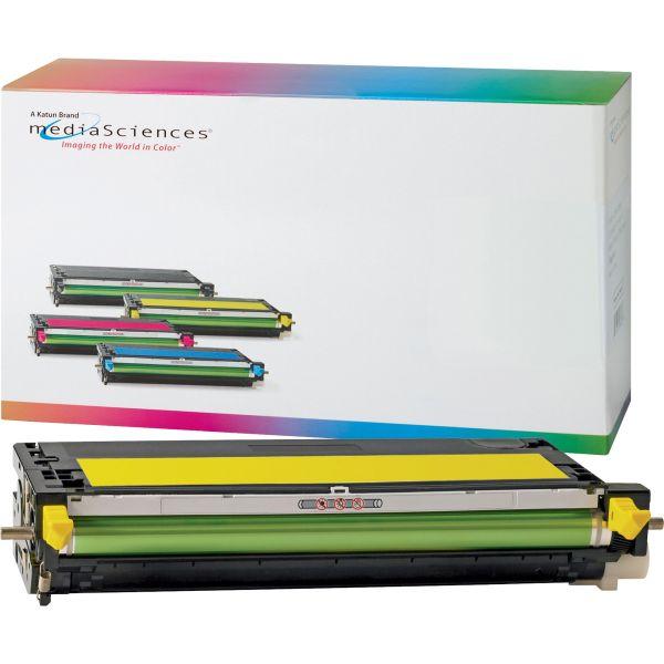 Media Sciences Remanufactured Dell 310-8099 Yellow Toner Cartridge