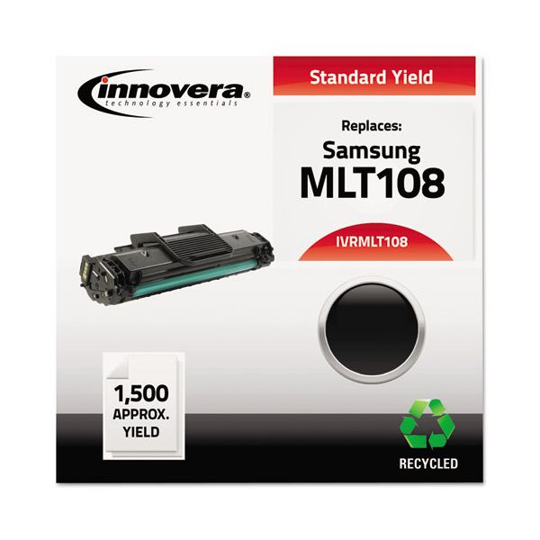 Innovera Remanufactured Samsung MLT-D108S Black Toner Cartridge
