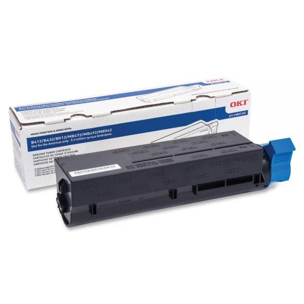 Oki High-Yield Black Toner Cartridge
