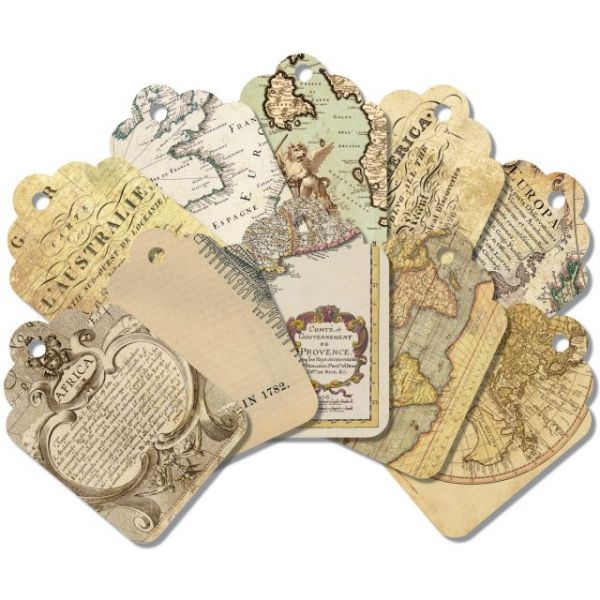 "Global Art Tags 2.25""X3.5"" 20/Pkg"