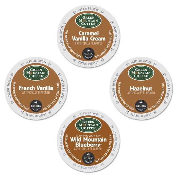 Green Mountain Coffee Flavored Variety Coffee K-Cups