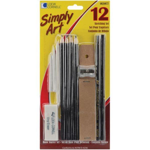 Simply Art Sketching Set 12pcs