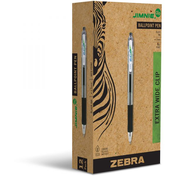 Zebra Pen ECO Retractable Ballpoint Pens
