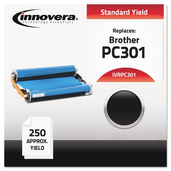Innovera Compatible PC301 Thermal Transfer Print Cartridge, Black