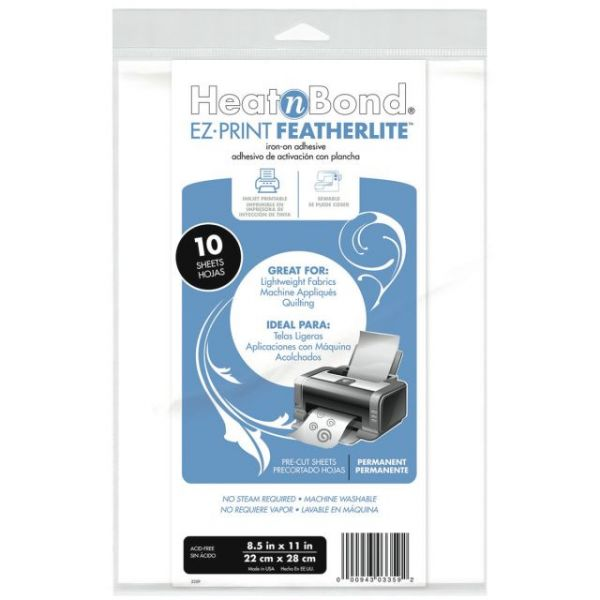 Heat'n Bond EZ-Print Featherlite Iron-On Adhesive