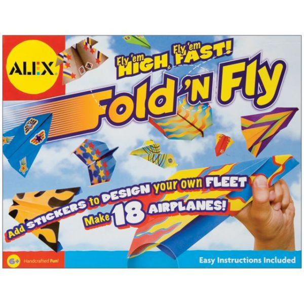 ALEX Toys Fold 'N Fly Airplanes Kit