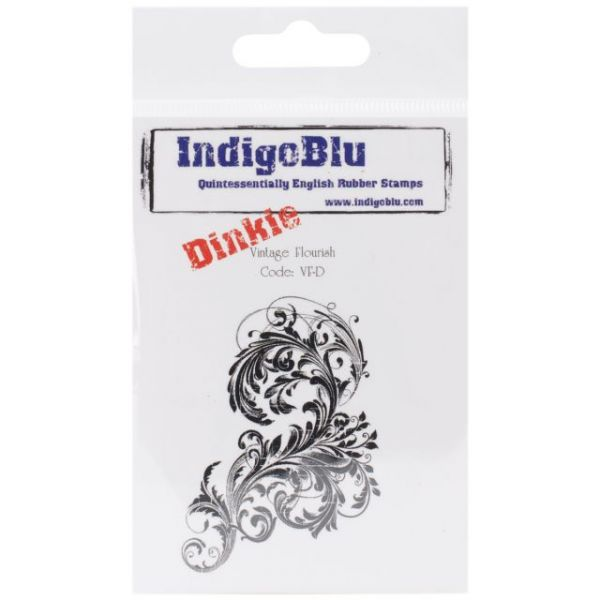 """IndigoBlu Cling Mounted Stamp 3""""X3"""""""