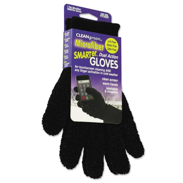 CleanGreen Caster Dual Action Microfiber Gloves