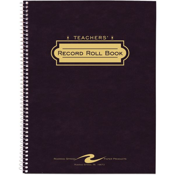 Teacher's Record & Roll Book