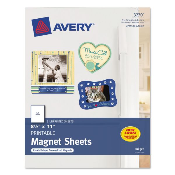 Avery Personal Creations Ink Jet Magnet Sheet