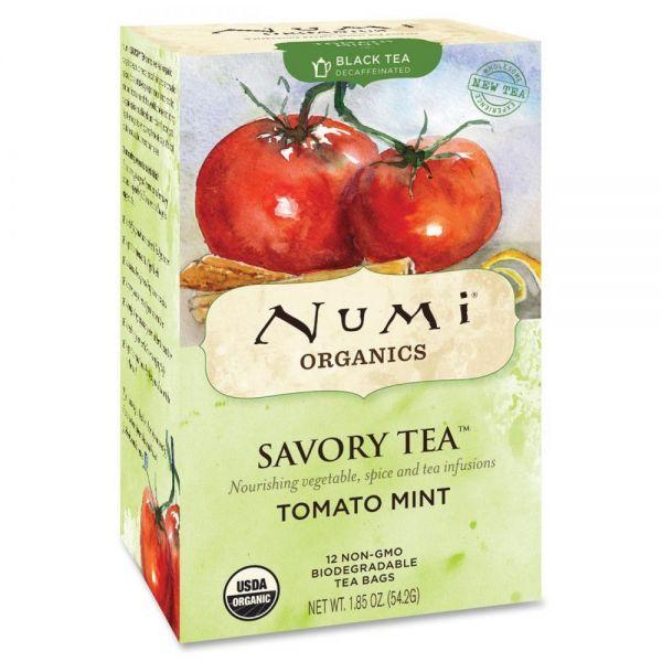 Numi Organics Savory Black Tea Bags