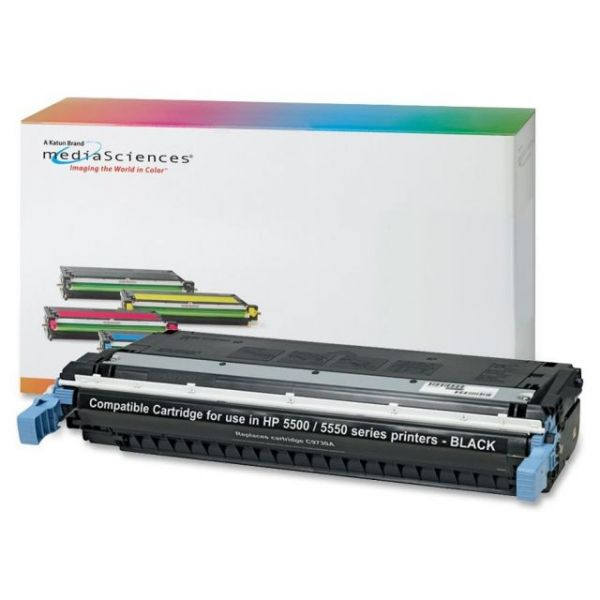 Media Sciences Remanufactured HP 645A Black Toner Cartridge