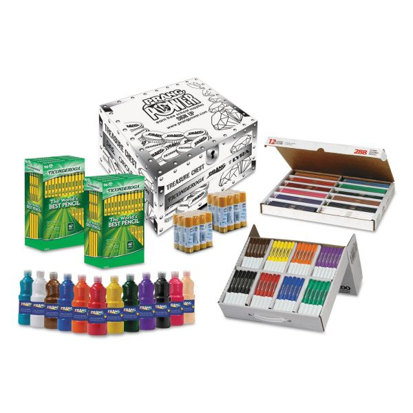 Prang School Kit in Storage Box