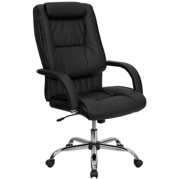 Flash Furniture High Back Executive Swivel Office Chair [BT-9130-BK-GG]
