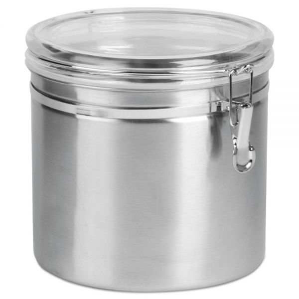 Office Settings Stainless Steel Canister