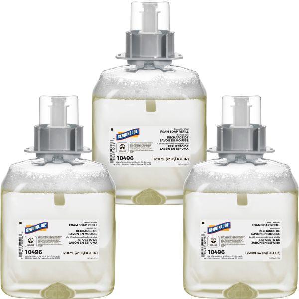 Genuine Joe Solutions Green Certified Foam Soap Refill